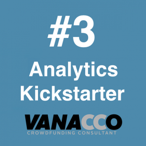 Analytics y Kickstarter
